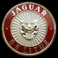 Logo Jaguar Mark II 3.8 Litre