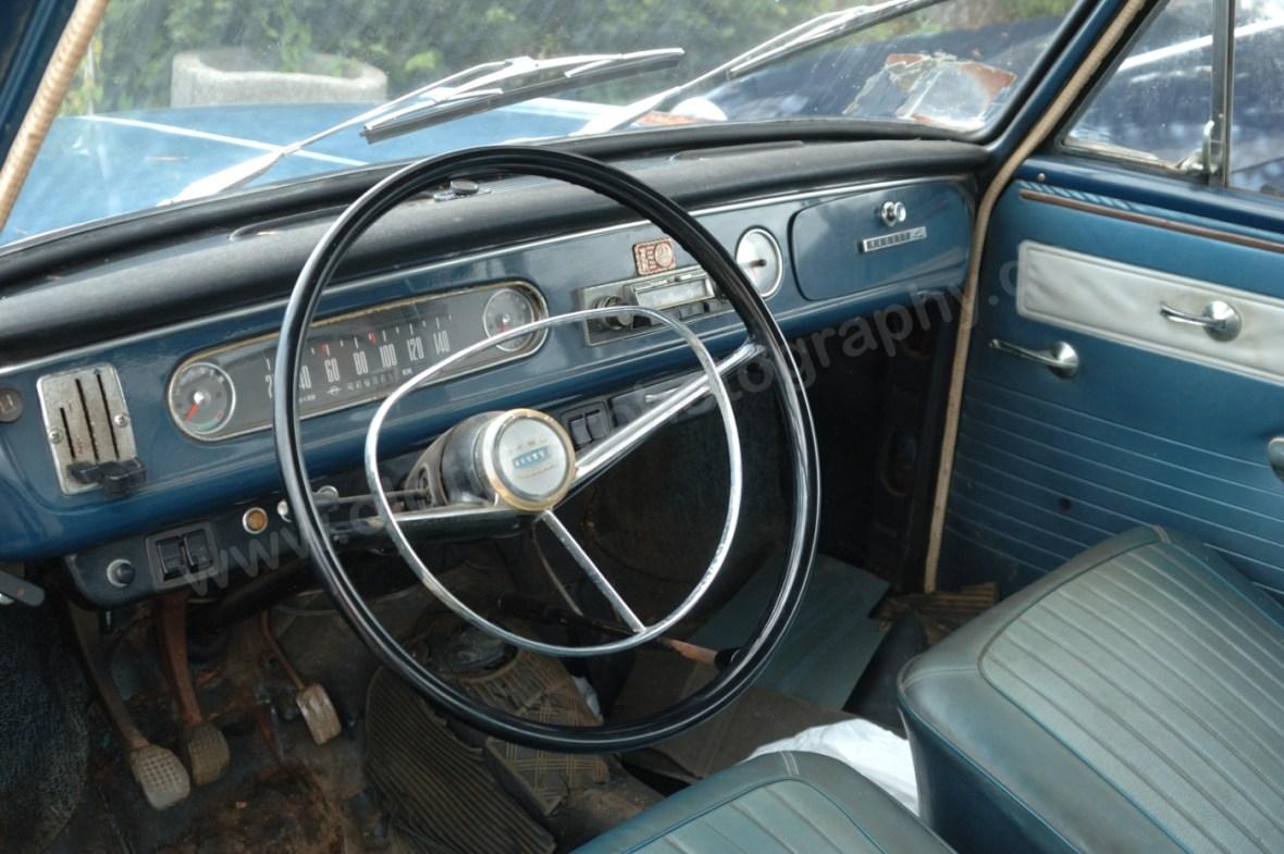 Opel Kadett A Coupe Interieur