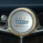 Opel Kadett A Coupe mit Logo auf Lenkrad