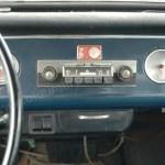Opel Kadett A Coupe mit eingabutem RAdio und Kippschalter für Scheibenwischer