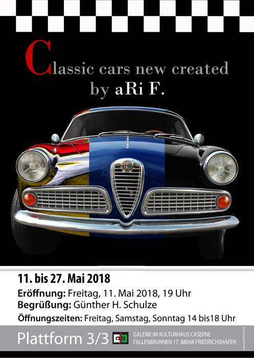 Ausstellung Plattform 3/3 Galerie im Kulturhaus Caserne/Friedrichshafen 11. bis 27. Mai 2018