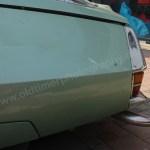 Citroen SM Detailansicht Kotflügel hinten