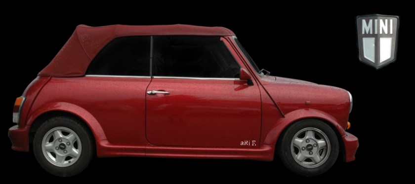 Mini Cabriolet 1275cc (1993-1996) im Bodykit (Originalfarbe)