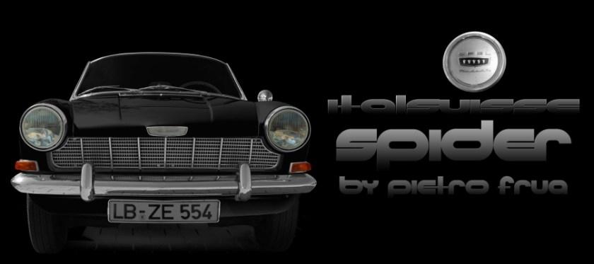 Opel Kadett A Spider Italsuisse by PIETRO FRUA VON 1964