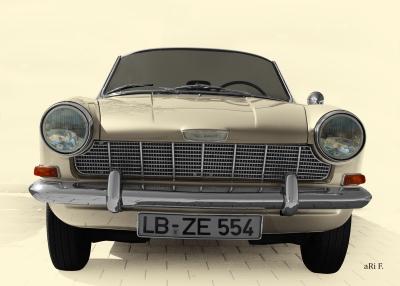 Opel Kadett A Spider in antique