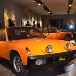 "Porsche 914-4 im MAC Museum Art & Cars 2018 bei ""Starke Frauen"" im MAC Museum Art & Cars in Singen im MAC Museum Art & Cars 2018 bei ""Starke Frauen"" im MAC Museum Art & Cars in Singen"