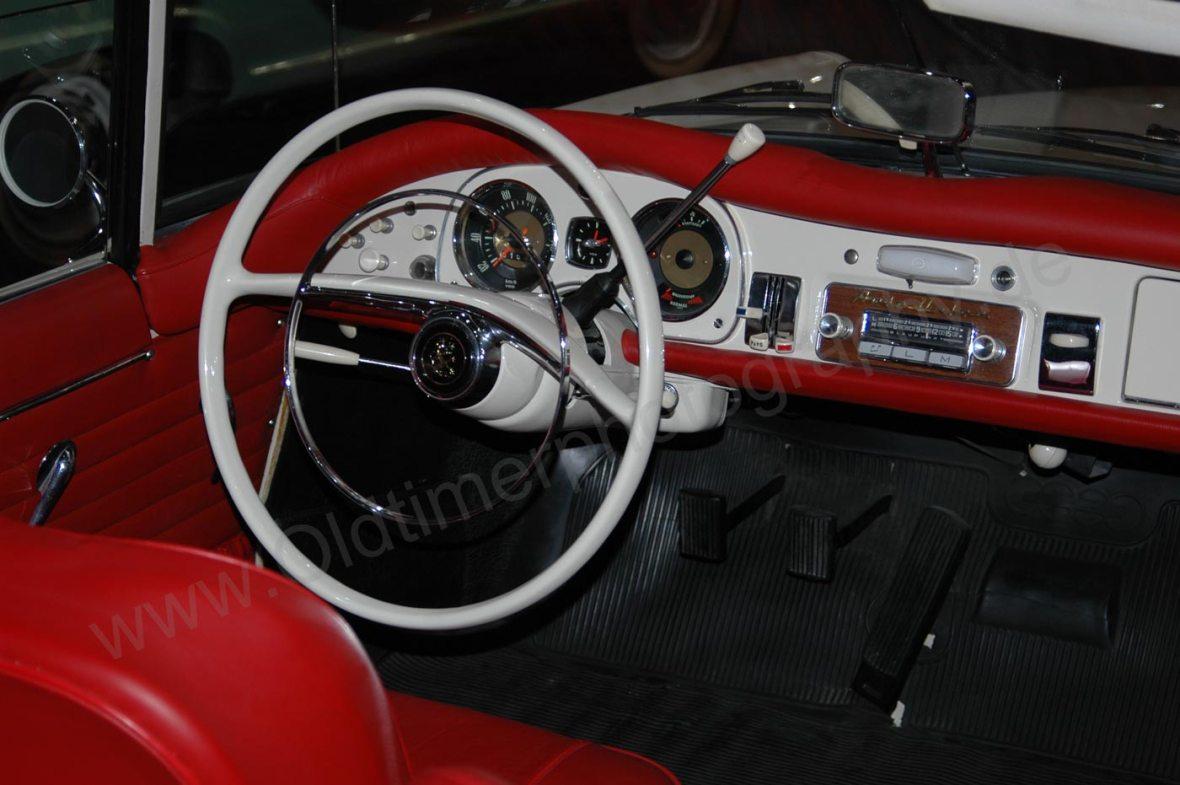 Auto Union 1000 Sp Interieur