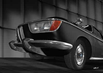 BMW 2000 CS in black