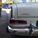 Mercedes-Benz W 110 kleine Heckflosse mit teilverchromten Heckflossen