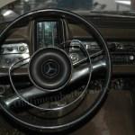 Mercedes-Benz W 110 200 D mit Walzentachometer auch Fieberthermometer im Volksmund genannt