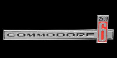 Logo Opel Commodore A 2500/6 Cabriolet (1967-1971)