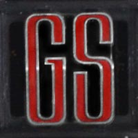 Logo Opel Commodore A GS 2500/6