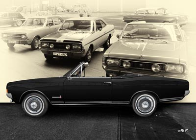 Opel Commodore A Cabriolet Poster