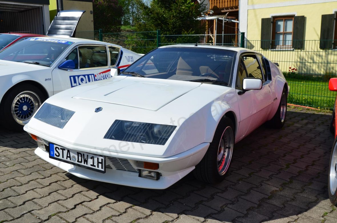 Renault Alpine A310 in weiß