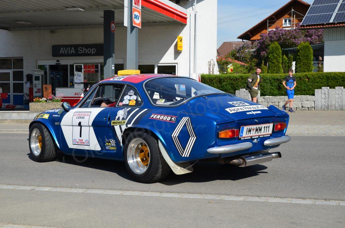 Alpine A110 im Racing-Look