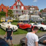 Stelldichein beim Oldtimertreffen in Langenargen vor der Uferpromenade