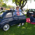 Fiat 500 in der verdienten Picknickpause