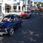 Fiat 500 und Jaguar E-Type