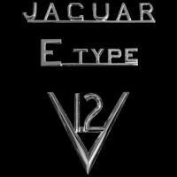 Logo Jaguar E-Type V12 Serie 3