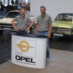 Messestand Alt Opel Interessengemeinschaft Messeteam