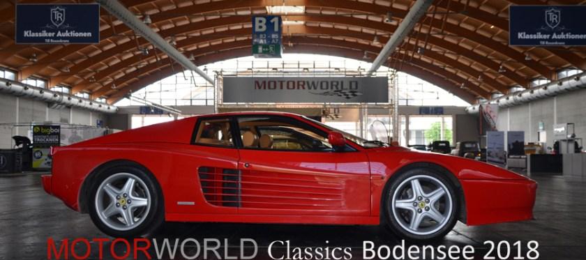 MOTORWORLD Classics Bodensee 25. - 27. Mai 2018