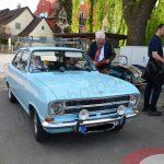 Opel Kadett A auf dem Weg zu bei einem Oldtimertreffen