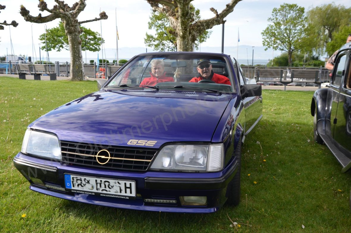 Opel Monza Cabriolet Frontansicht