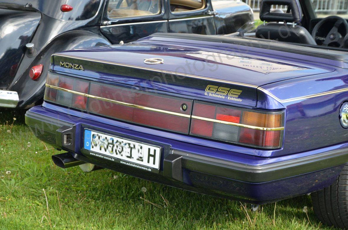 Opel Monza Cabriolet Heckansicht
