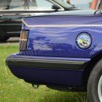 Opel Monza Cabriolet mit Airbrush-Bild auf dem Tankdeckel