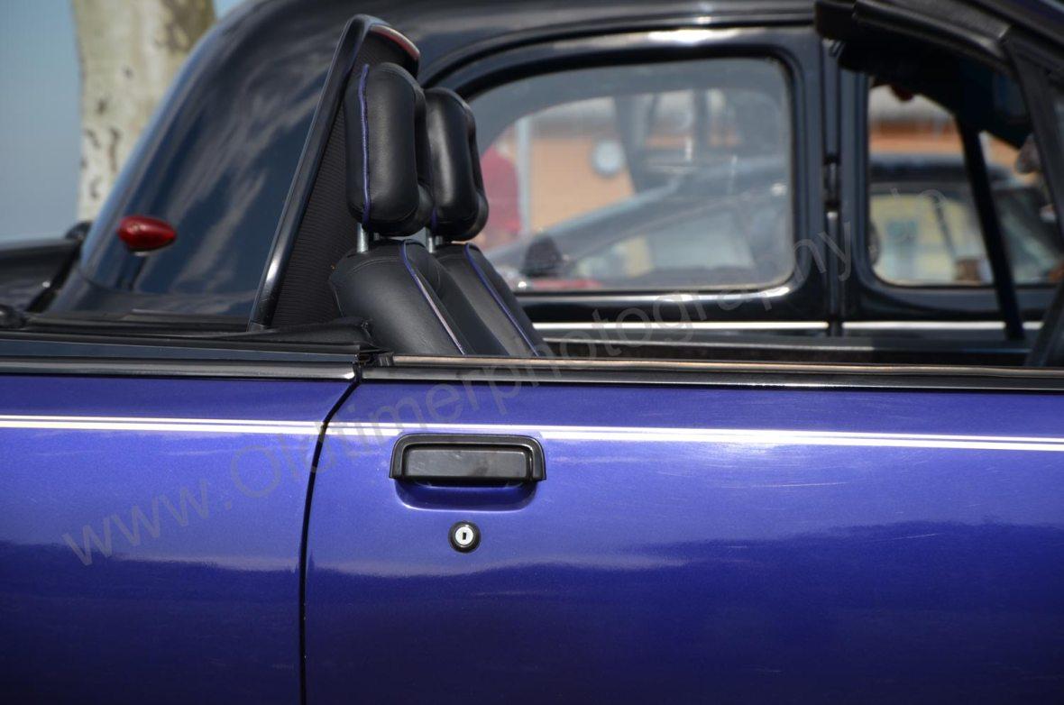 Opel Monza Cabriolet mit umklappbarem Windschott