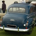 Opel Olympia Heckansicht