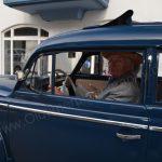 Opel P4 bei der Einfahrt zum Oldtimertreffen in Langenargen