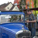 Peugeot 201 kurz vor der Registrierung