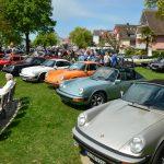 Porsche G-Modelle und ein 911er-Modell dazwischen