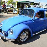 VW Käfer im Bugatti-Blau