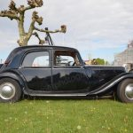 Citroën Traction Avant Berline Seitenansicht