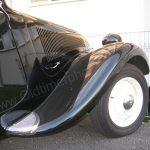 Citroën Traction Avant Kotflügel-Detailansicht