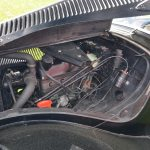 Citroën Traction Avant Motoransicht und Lüftungschlitze in der Motorhaube