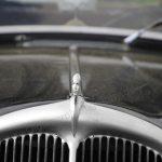 Citroën Traction Avant mit Kühlerfigur, auf historischen Fotos äusserst selten zu sehen