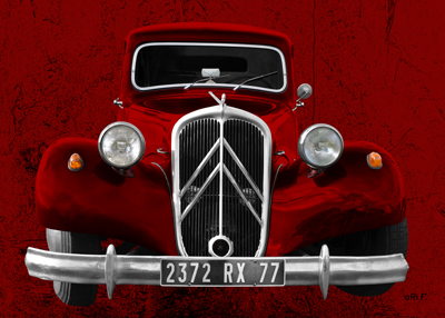 Citroen Traction Avant new created by aRi F.