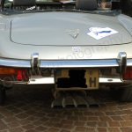 Jaguar E-Type Series III Roadster mit imposanter Auspuffanlage