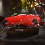 Jaguar E-Type Serie I Roadster von 1961 wie er im Genfer Auto-Salon ausgestellt wurde