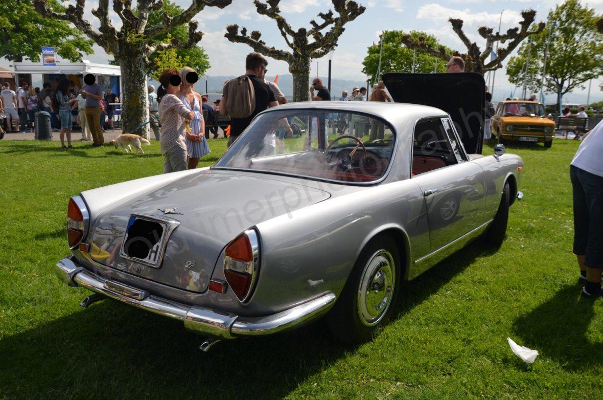 Lancia Flaminia 2.8 Heckansicht