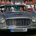 Lancia Flaminia Frontansicht auf einem Oldtimertreffen am Bodensee