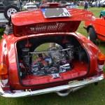 VW Karman Ghia Cabriolet mit verchromten Motor