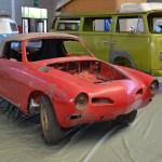VW Karmann Ghia Coupé Typ 14 entkernt für weitere Restauration