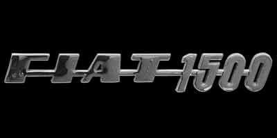Logo Fiat 1500