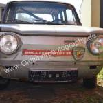 Simca Abarth 1150 SS Frontansicht