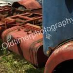 OM Tigrotto mit Teilansicht auf Kraftstoffbehälter