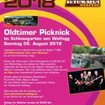 Oldtimer Picknick Wolfegg 5. August 2018